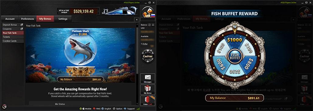 Fish Buffet на PokerOK
