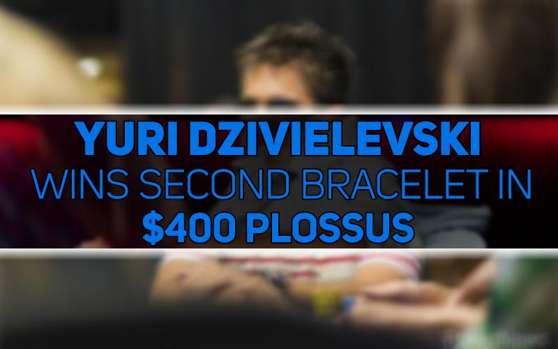 Юрий Дзивилевский выиграл второй браслет в турнире PLOSSUS на WSOP